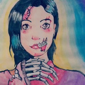 acuarela Zombie