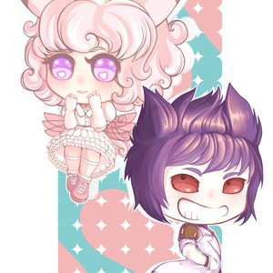 Chibi nurse and doctor