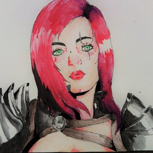 Katarina ilustracion