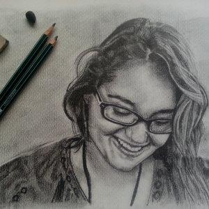 retrato lapiz