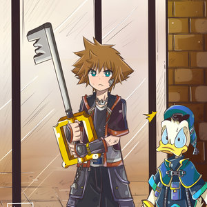 Kingdom Hearts (Sora y Donald)