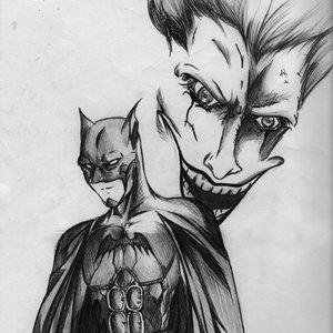 Batman & Jocker por Maese Hellekin