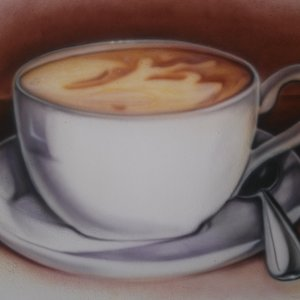 Café....  Mural
