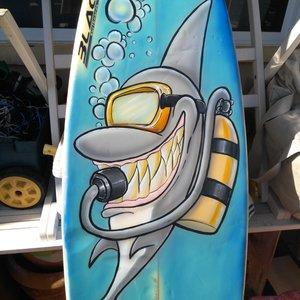 Snorkeling shark.... Resultado final