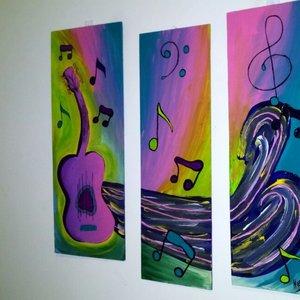Música de colores (tríptico)