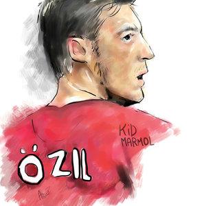 Mesut Ozil-Digital