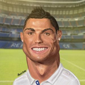 Cristiano Ronaldo Caricatura