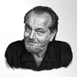 Rerato Jack Nicholson en Artrage4
