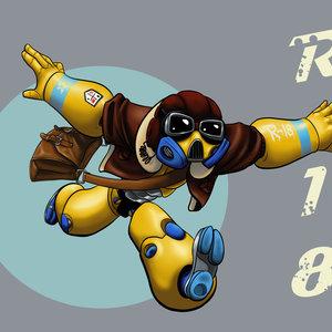 Robo-aviador no.18
