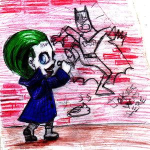 Joker was here