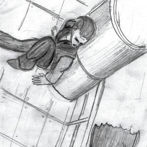 Escapando del murcielago