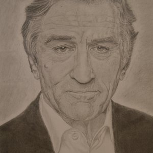 Retrato de Robert de Niro