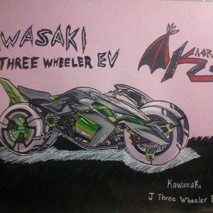 KAWASAKI J THREE WHEELER EV