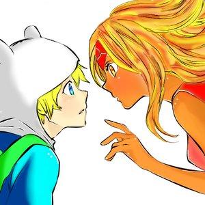 finn_x_flame_princess___lineart__anime_version__by_nikocopado_d6cpx1h_297674.png