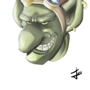 Goblin Head - Photoshop Practice
