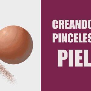 Creando Pinceles para pintar piel