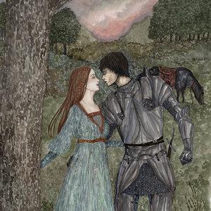 Dama y su caballero