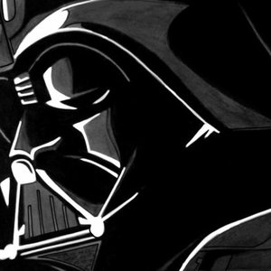 dibujo fan art Darth Vader