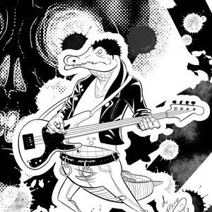 cocodrilo punk