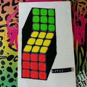 cubo rubik ilusion optica