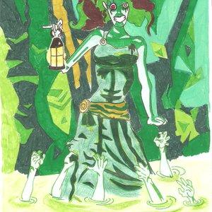 La Dama del pantano...