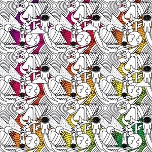 Pattern para ilustrar libreta