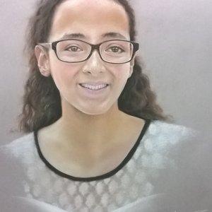 Retrato Lupita
