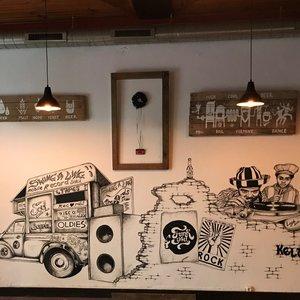 Mural en cervecería