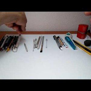Mis materiales de dibujo