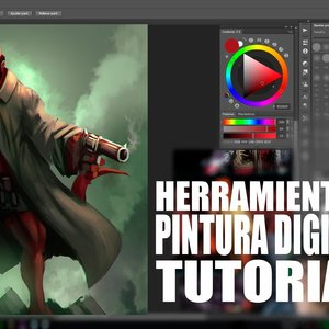 HERRAMIENTAS PINTURA DIGITAL / TUTORIAL