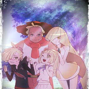 Lillie/Lylia Family - Pokemon Sol y Luna