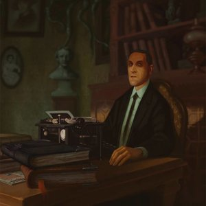 Retrato H. P. Lovecraft