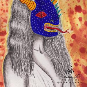 Mujer alebrije
