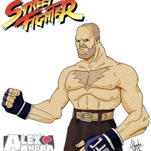 Personaje para Street Fighter (Fan Made-Jason Statham)