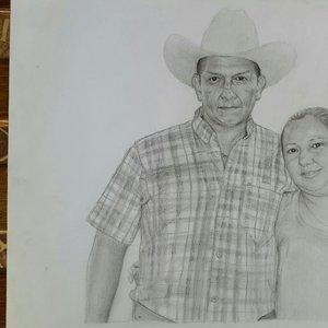 Retrato de una feliz pareja XD