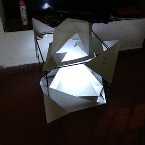 cubo decorativo inspirado en ISSEY MIYAKE