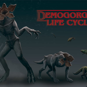 DEMOGORGON LIFE CICLE: STRANGER THINGS
