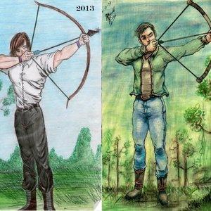 Arquero- antes y despues