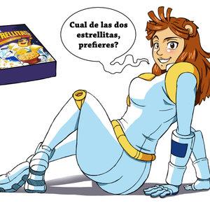 Marcas humanizadas: Cereal estrellitas - mujer