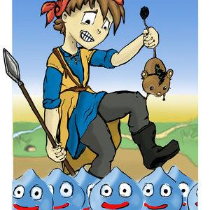 Heroe, Dragon Quest VIII(¡Ojo!)