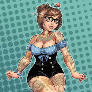 Mei pin up commission