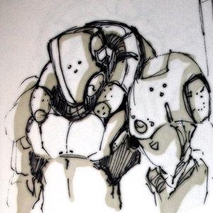 Cyborg Sketch 1