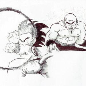 Torneo Final de las artes marciales Goku niño vs Ten Shin Han