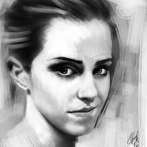 Emma Watson Retrato