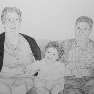 Concha, Irene y Ángel