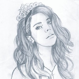 Retrato Lana del rey.