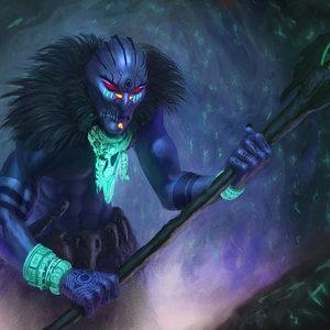 El brujo de la cueva