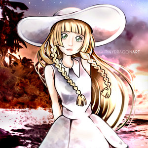 Lillie - Pokémon sun and moon