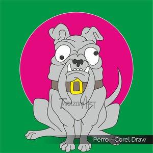 Perro - Corel Draw