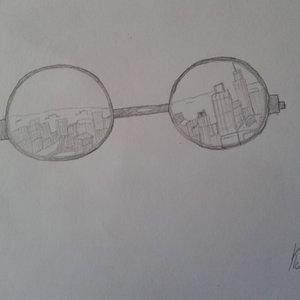 Un mundo a través de gafas